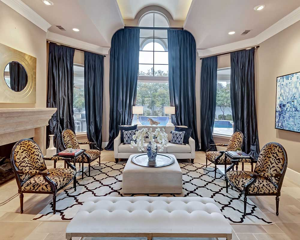 Sharp House Fort Worth Home Staging Sitting Room